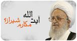 آیت الله مکارم شیرازی